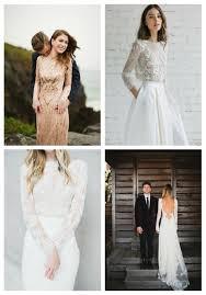 Long Sleeved Wedding Dresses 35 Gorgeous Long Sleeve Wedding Dresses Happywedd Com