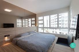 Platform Bed Singapore 10 Hdb Flat Designs To Inspire Your Home Renovation The