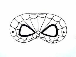 free printable spiderman mask template craftsy