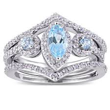 gemstone wedding rings gemstone bridal jewelry sets shop the best wedding ring sets