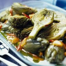 cuisiner l artichaud marinade d artichauts poivrades cuisine plurielles fr