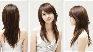 hairstyles for angular faces layered haircuts for long faces tag layered hairstyles for long