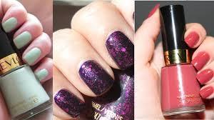 revlon nail polish colors latest swatches 2017 youtube