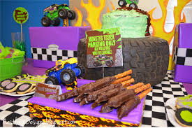 grave digger monster truck birthday party supplies nestling monster truck party reveal