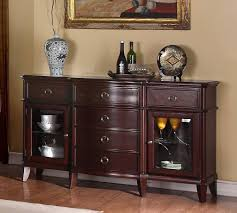 Dark Wooden Table Top Sideboards Marvellous Cherry Buffet Server Cherry Wood Sideboards