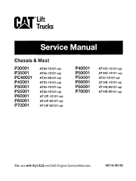 cat lift trucks service manual battery electricity relay