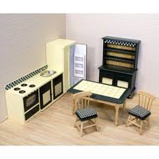 Dollhouse Kitchen Furniture by Dollhouse Furniture