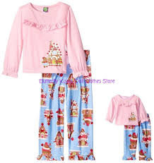 Dolly And Me Clothing Sz 8 10 Dollie Me Gingerbread Pj U0026 039 S Matching 18 U0026 034 Doll