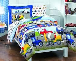 Sports Toddler Bedding Sets Boy Bed Sets Boys Bedding Construction Set Trucks Cars