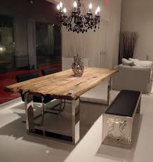 Contemporary Dining Room Tables Best 25 Metal Dining Table Ideas On Pinterest Dining Tables