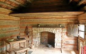 Interior Of Log Homes by Rustic Kentucky Cabin The My Old Kentucky Home State Park In