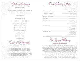 wedding programs printable hobby lobby wedding program templates write happy ending