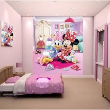 fresque chambre fille papier peint enfant minnie fresque murale décorative achat vente