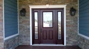 Parts Of An Exterior Door Exterior Doors With Sidelights Mahogany Front Door With Sidelights