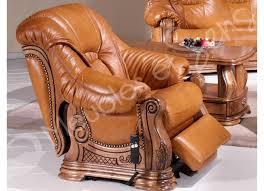 canapé cuir et bois rustique canape cuir bois canape cuir vert ensemble canapacs places