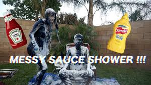 Challenge With Sauce Sauce Shower Challenge