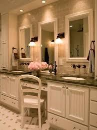 Bathroom Vanity Building Plans Wonderful Bathroom Vanity With Makeup Station And Bathroom Makeup