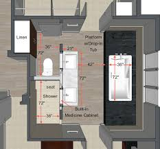 Floor Plan Standards Your Guide To Planning The Master Bathroom Of Your Dreams