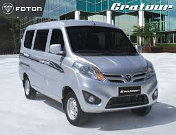 toyota van philippines foton gratour is perfect for grab uber business philippine car
