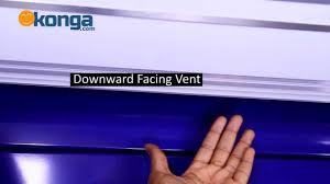 chigo air curtain air conditioner review by konga com youtube