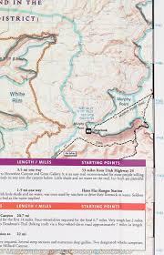 Utah National Parks Map Map Of Maze District Canyonlands National Park National