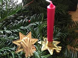 getting the led out christmas tree candles and candle holders are