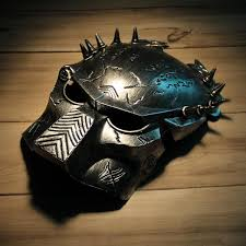 cool masks cool predator mask for masquerade silver gray
