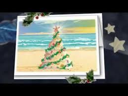 beach themed christmas cards youtube