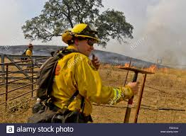 Wildfire Clearlake Ca by Clearlake Ca Usa 12th Aug 2015 Cal Fire Lake Napa Unit Stock