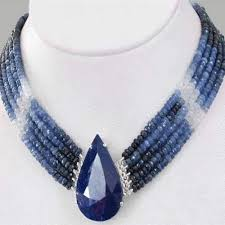 sapphire beads necklace images Sapphire beads jewelry and handmade ruby emerald necklaces jpg