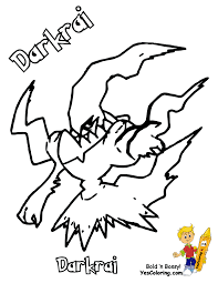 pokemon coloring pages darkrai 3 arterey info