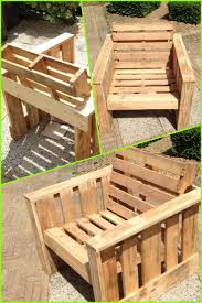 self made chair made completely from old pallets recycle upcycle reclaimed recycling projects wooden garden furniture garden furniture