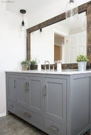 Pictures Of Bathroom Vanities And Mirrors Bathroom Vanity Mirrors With Lights Bathroom Mirror Contemporary