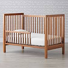 when to convert from crib to toddler bed andersen toddler side rail the land of nod