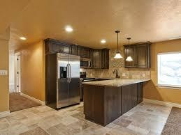 small basement kitchen ideas color tips small basement kitchen