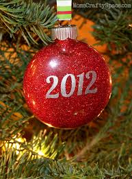 Glitter Christmas Ornaments Floor Wax by Personalized Glitter Ornaments Happiness Is Homemade