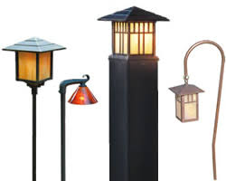 Low Voltage Led Landscape Lighting Hadco Floral And Tulip Path Lights Low Voltage And Line Voltage
