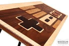 handmade coffee table the handmade nes controller coffee table gadgetsin