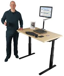 Electric Stand Up Desk Thermodesk Elite Electric Standing Desk