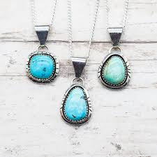 real turquoise pendant necklace images Bohemian gypsy jewelry turquoise indie and harper jpg