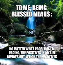 Blessed Meme - blue waterfall imgflip