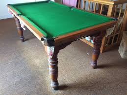 quarter size pool table health and leisure sport snooker and pool classified ads in