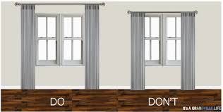 where to hang curtains it s a grandville life thursday s tips tricks how to hang curtains