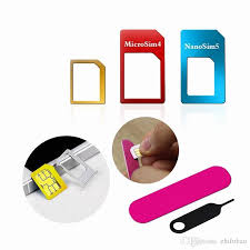 cheap 5in1 nano micro standard sim card adapter kit converter with