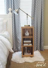 Nightstand Bookshelf Diy Nightstand Hack U0026 Giveaway Sincerely Sara D
