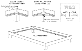 Building A Platform Bed With Legs by How To Convert A Platform Bed For A Box Spring U2014 Little House Big City