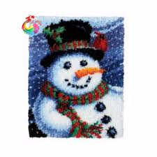Christmas Rug Online Get Cheap Christmas Latch Hook Kits Aliexpress Com