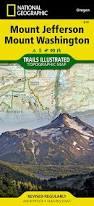 Mount Washington Trail Map by Mount Jefferson Mount Washington National Geographic Trails