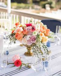 Table Flowers by Floral Wedding Centerpieces Martha Stewart Weddings