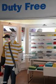 duty free lacoste polo shirts for sale at aeropuerto international